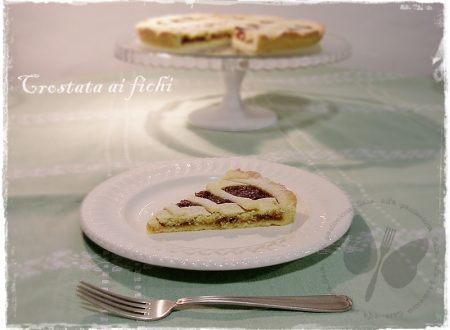Crostata ai fichi, ricetta dolce