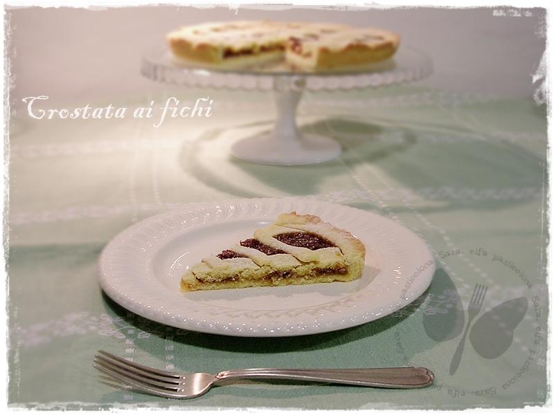 Crostata ai fichi Sara elfa pasticciona
