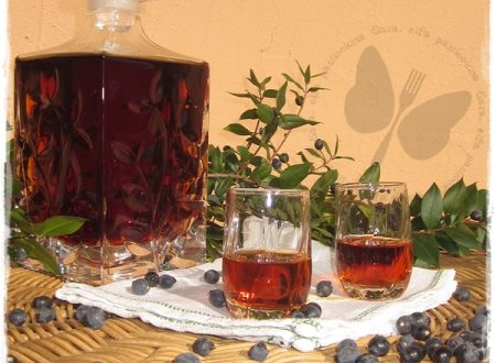 Liquore di mirto, ricetta sarda della mia famiglia