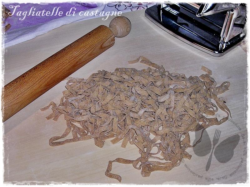 Tagliatelle di castagne