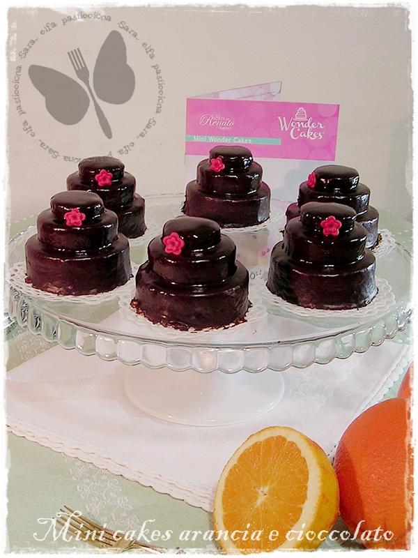 mini cakes arancia e cioccolato