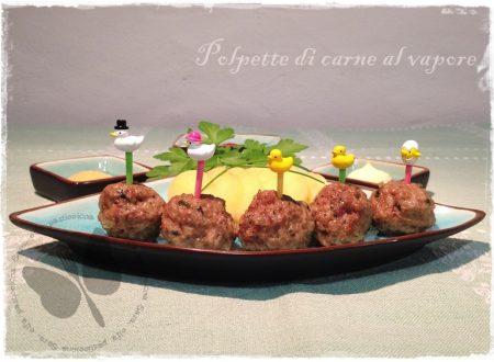 Polpette di carne al vapore, ricetta light