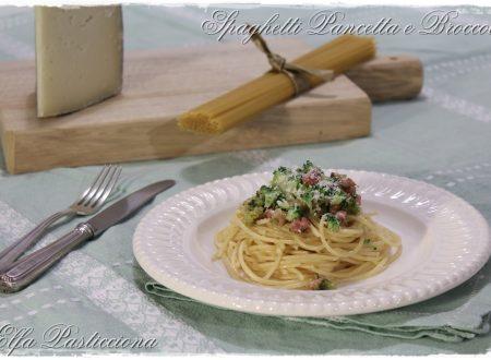 Spaghetti Pancetta e Broccoli