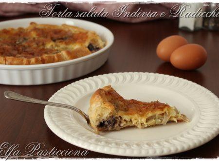 Torta Salata con Indivia e Radicchio