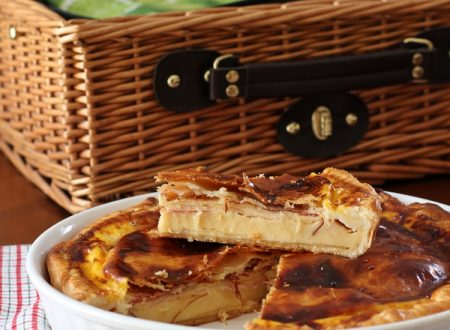 Torta Salata Speck e Formaggio
