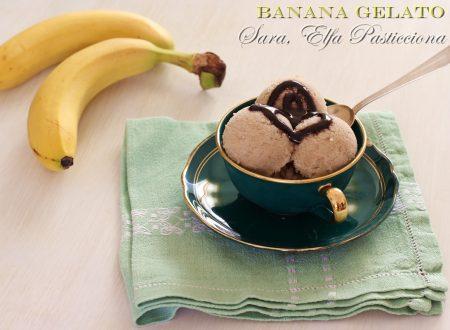 Banana Gelato super semplice e light