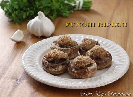Funghi champignon ripieni di carne