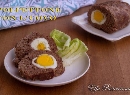 Polpettone con l'uovo al cartoccio