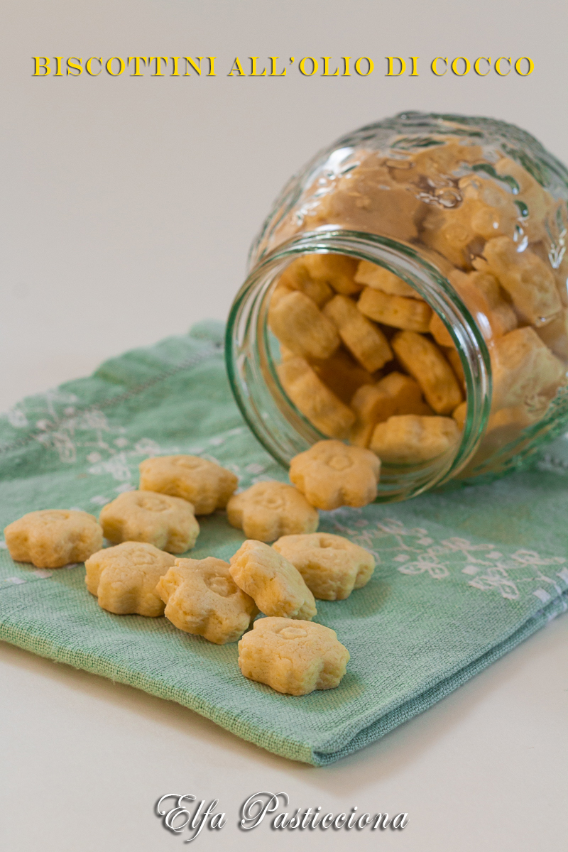 biscottini all'olio di cocco