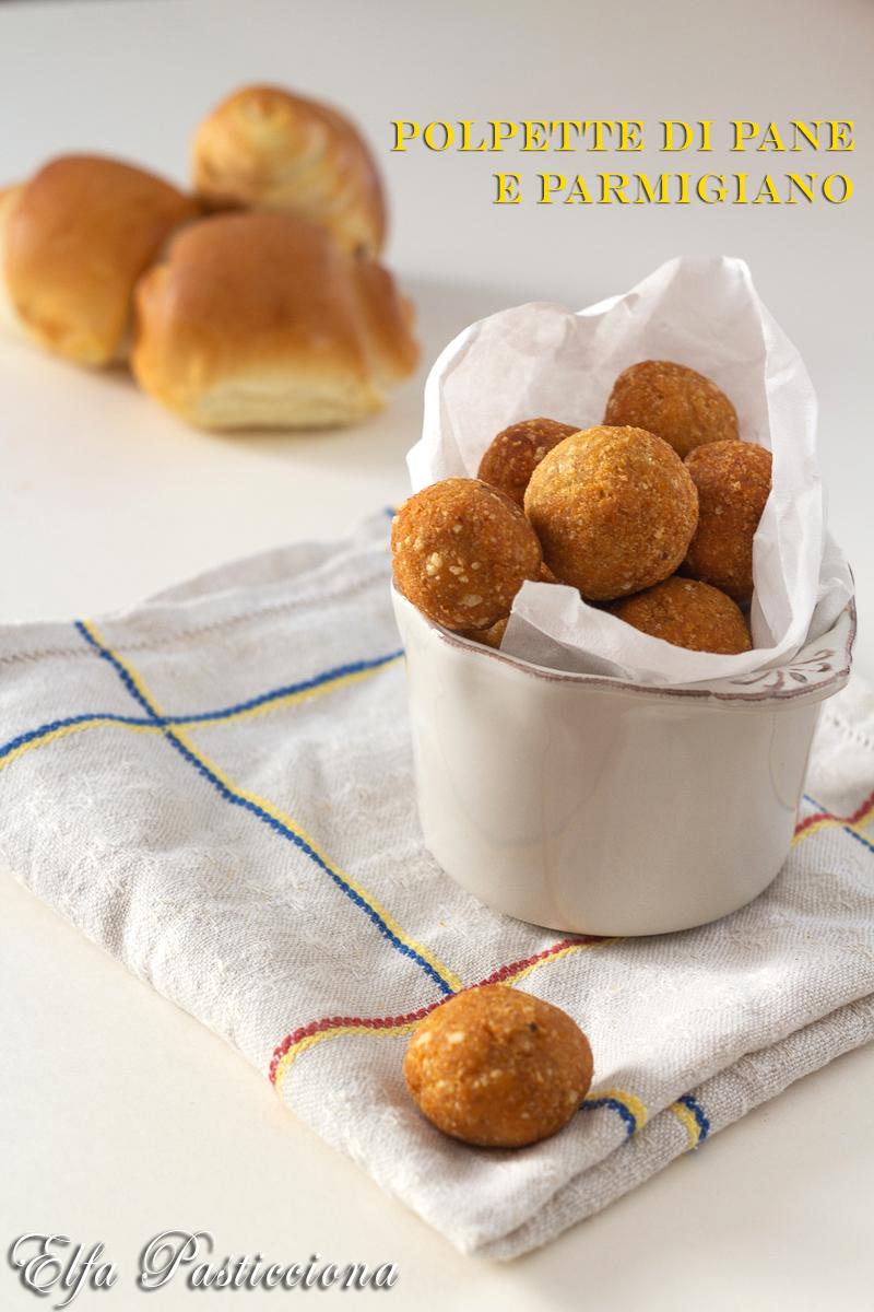 polpette di pane e parmigiano