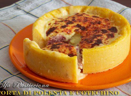 Torta di polenta e cotechino
