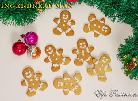 Gingerbread man, omino di pan di zenzero