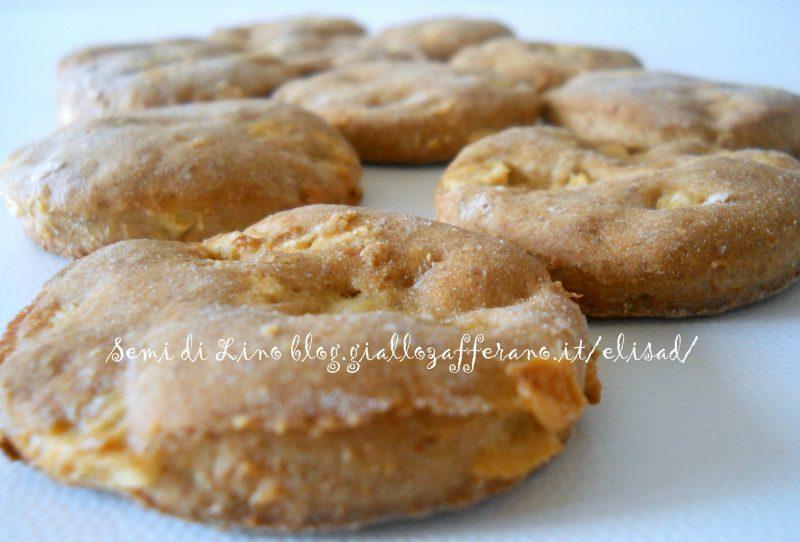 Biscotti integrali alle mele – Ricetta biscotti all'olio di oliva