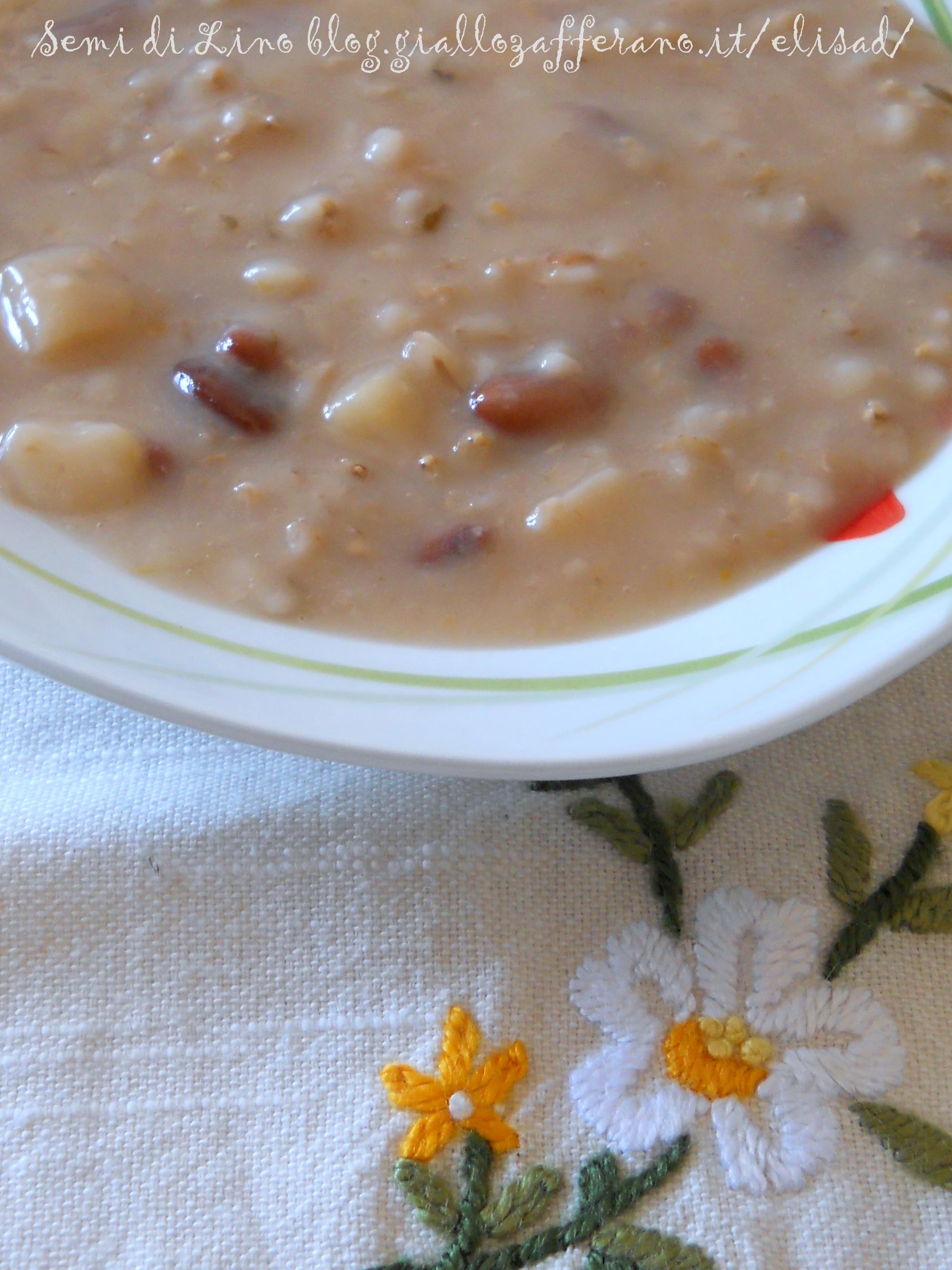 Zuppa di orzo - Ricetta invernale   Semi di Lino