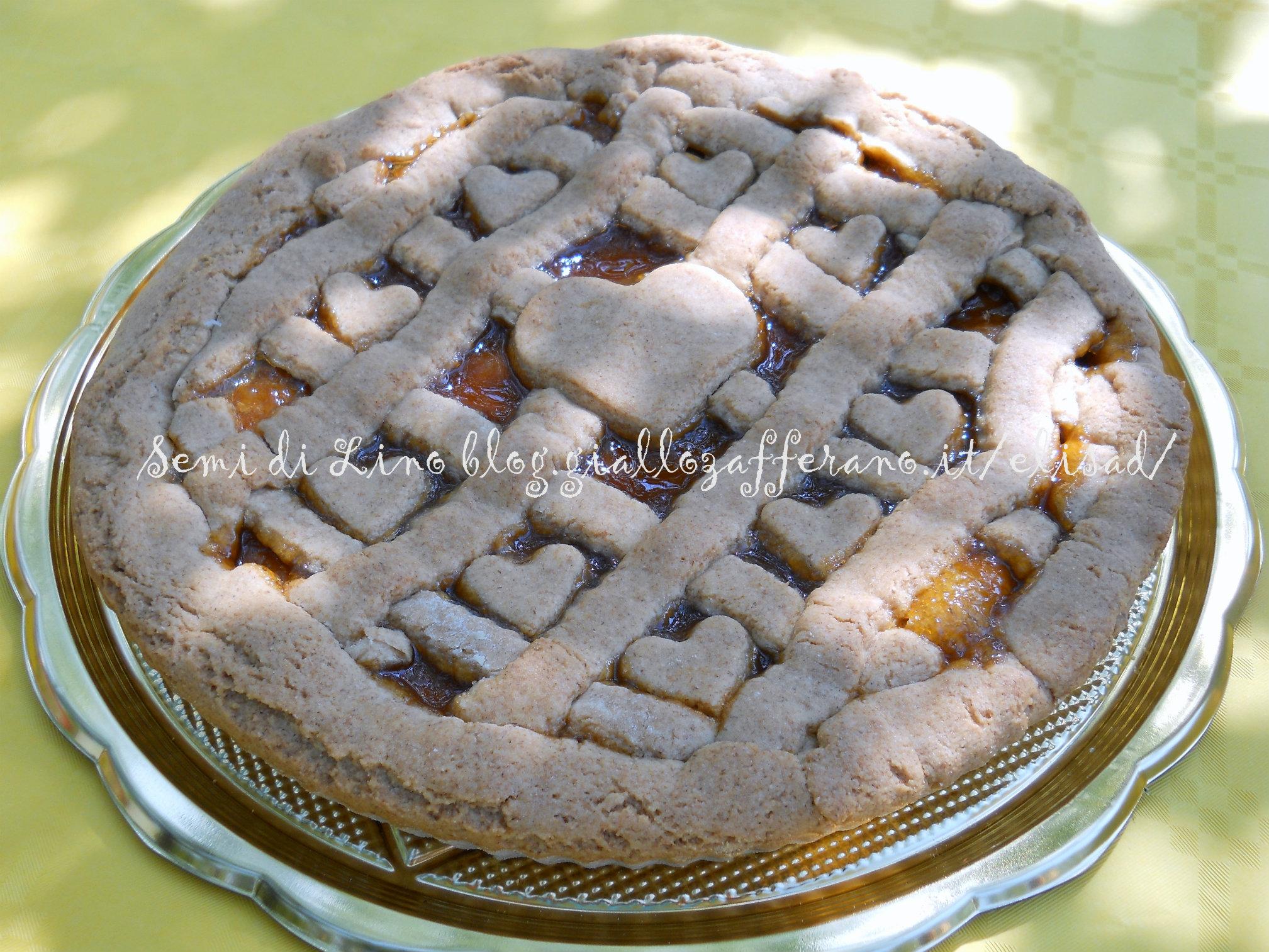 Ricetta torta con farina integrale di farro