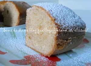 Ciambella con farina integrale - Ricetta light dolce integrale | Semi di lino