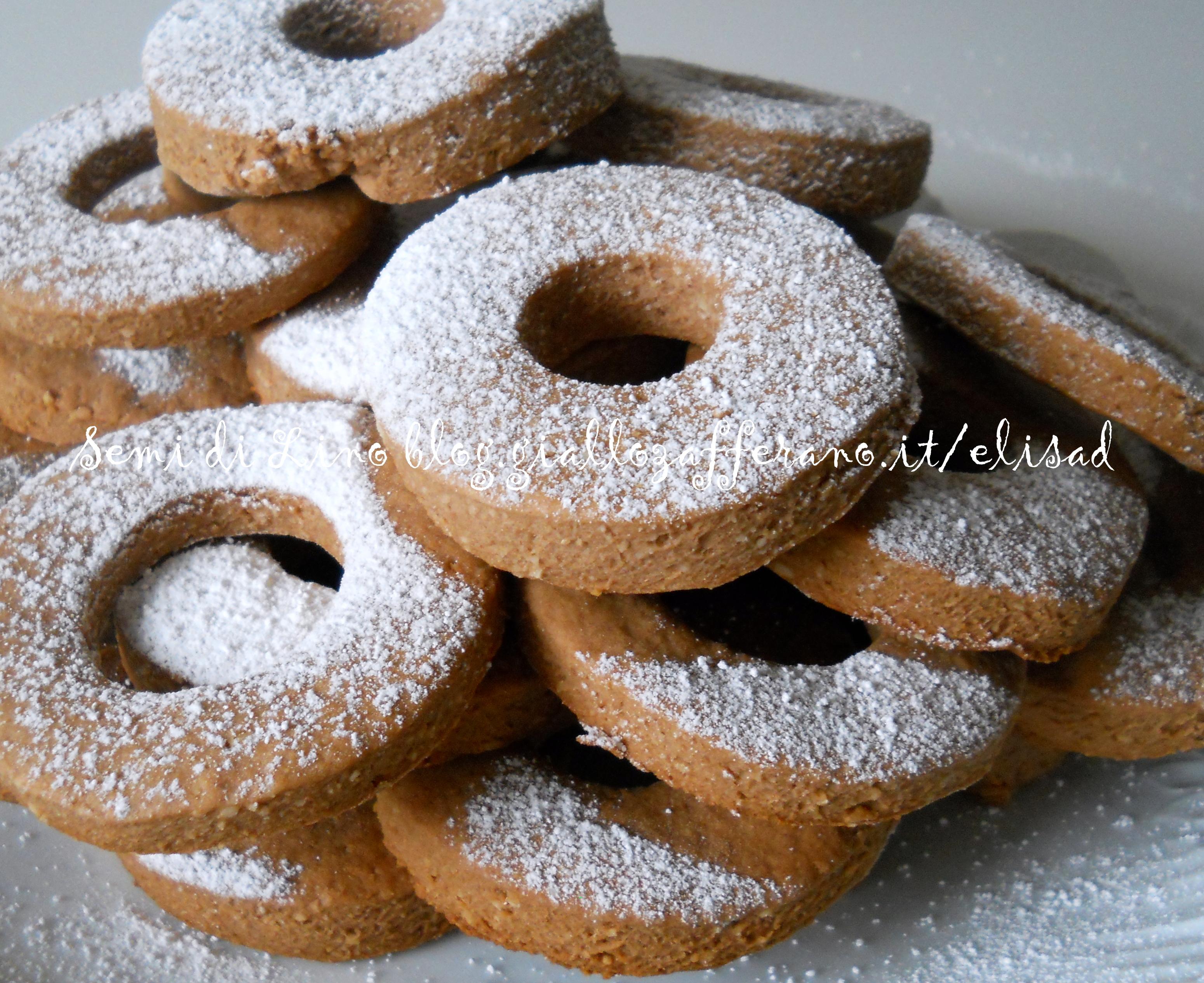 Parpagnacchi - Ricetta biscotti con miele e mandorle