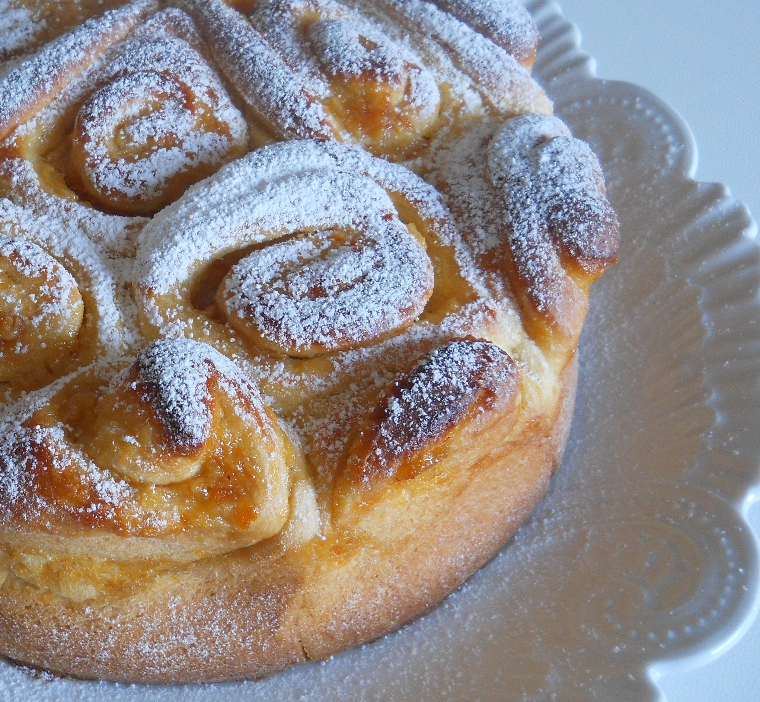 Ricetta con foto torta di rose