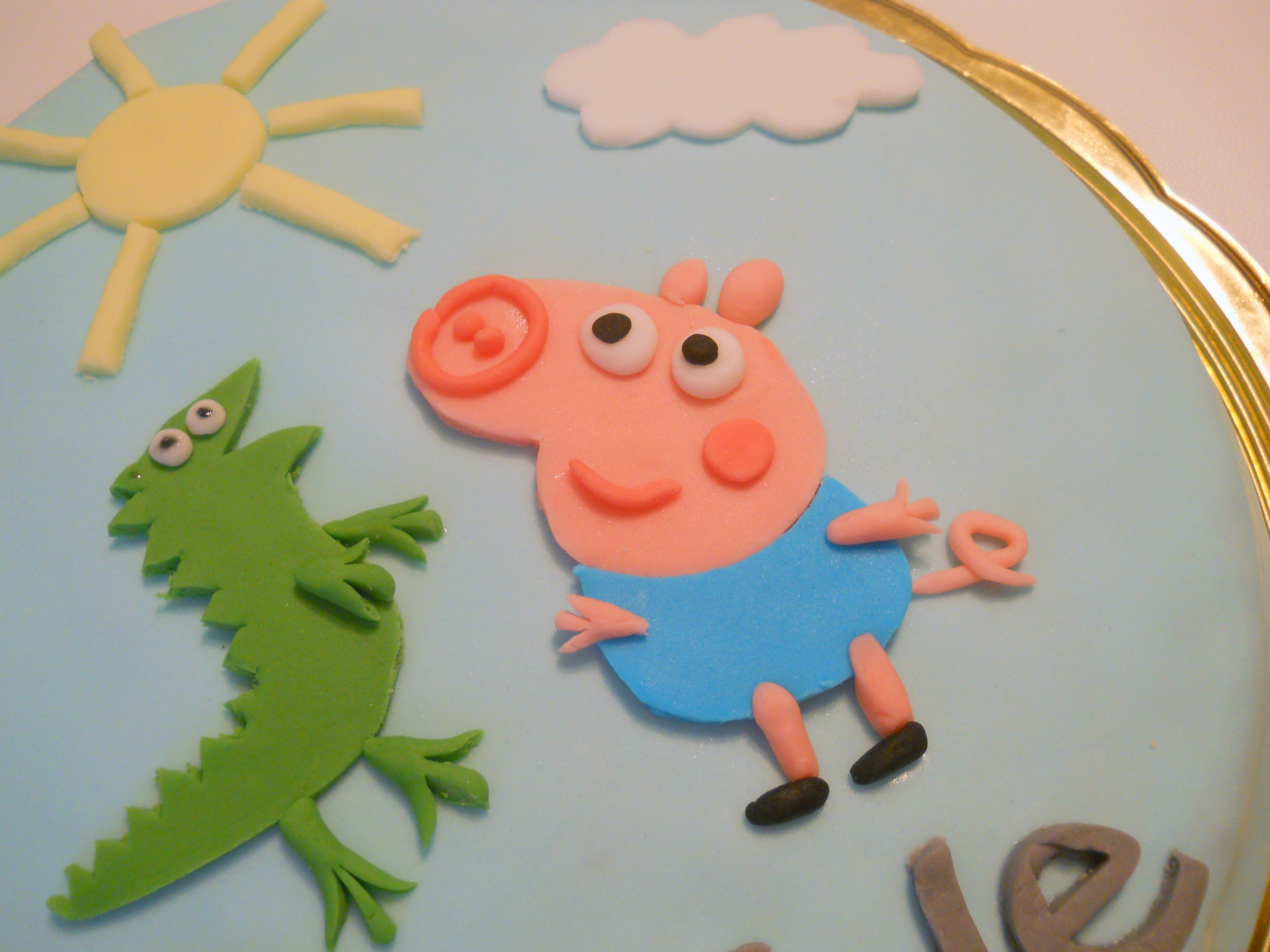 Torta George Pig Pdz Immagini Torta Peppa Pig Il Blog Di Semi Di