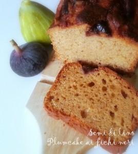 Plumcake ai fichi freschi - Ricetta dolce di settembre   Semi di lino