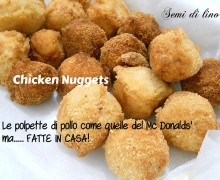 Polpette di pollo fritte come al fast food: i Chicken Nuggets
