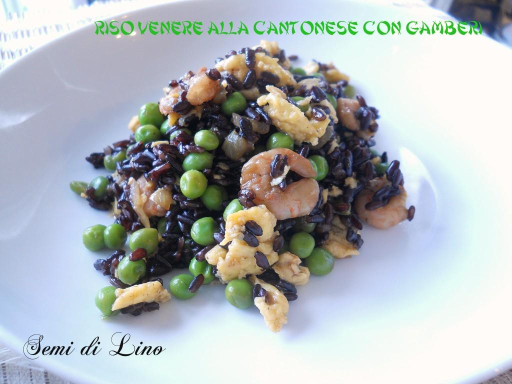 Riso venere con gamberi ricetta orientale for Cucinare riso venere