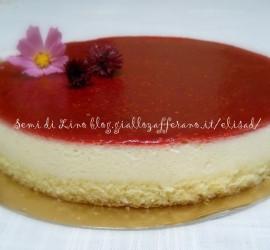 Bavarese al cioccolato bianco e lamponi – Ricetta torta cioccolato bianco