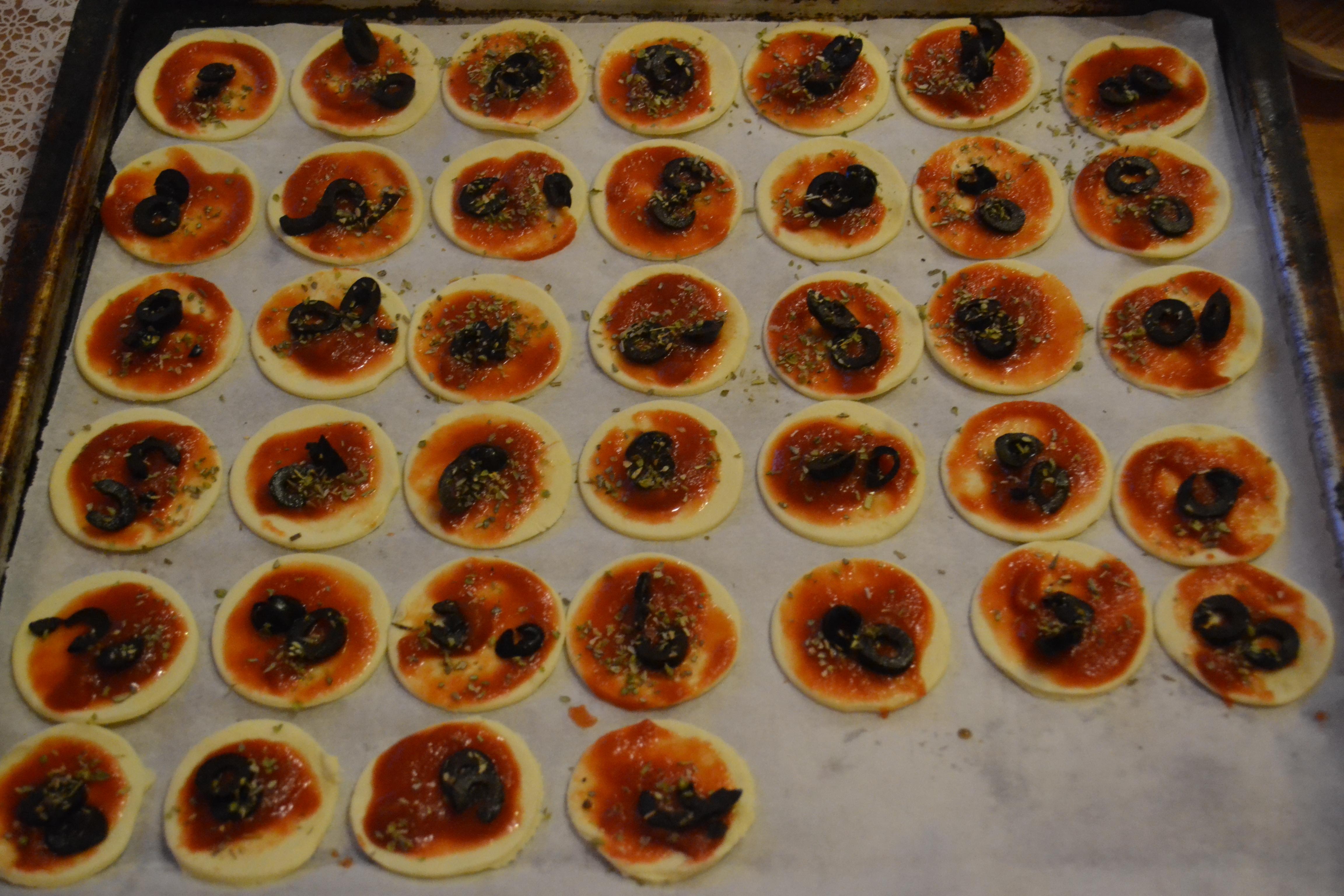 Pizzette sfogliate