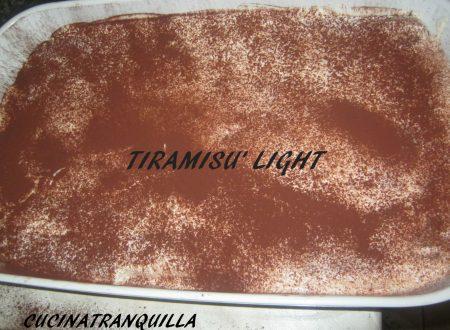 TIRAMISU' LIGHT