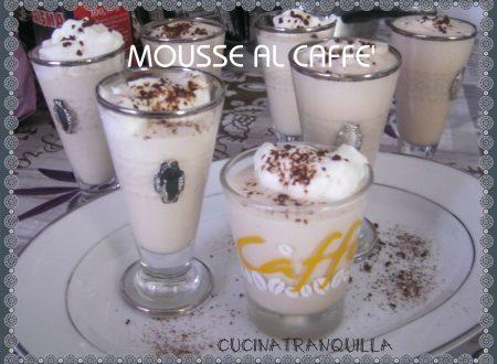 MOUSSE AL CAFFE'