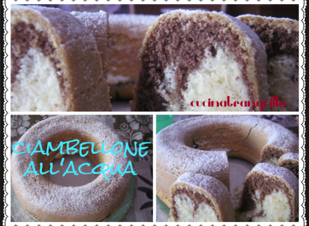 CIAMBELLONE  ALL' ACQUA