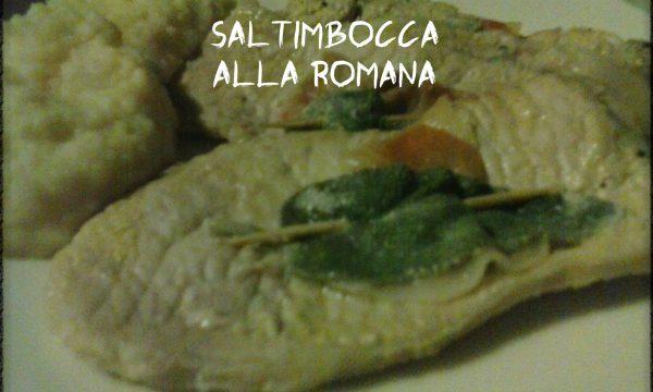 SALTIMBOCCA ALLA ROMANA