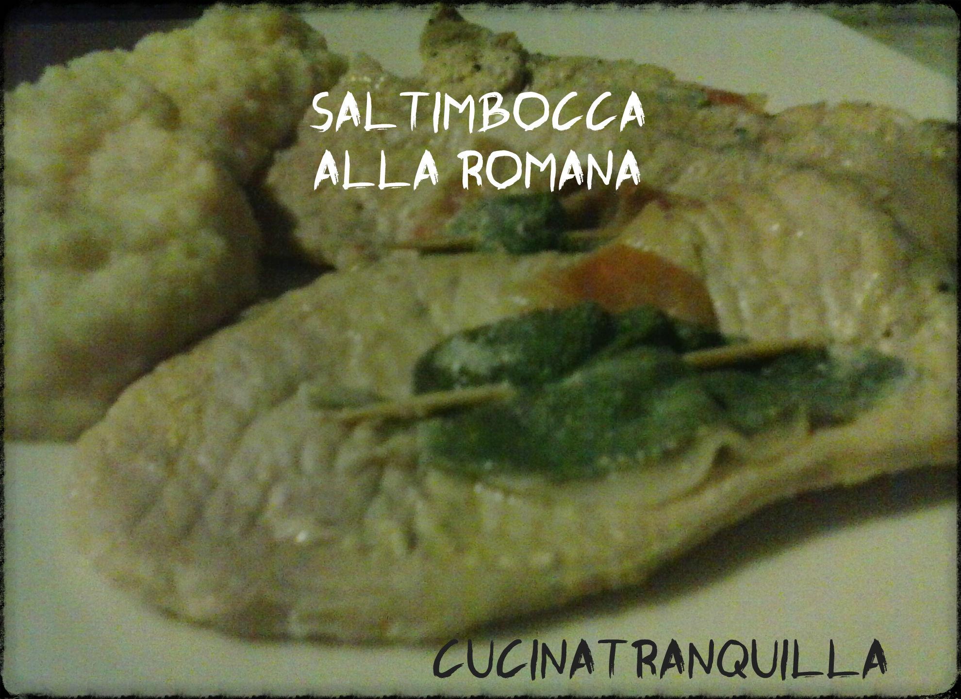 Saltimbocca alla romana cucinatranquilla for Carne tipica romana