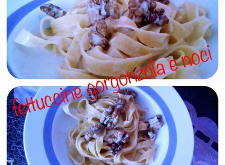 Fettuccine gorgonzola e noci