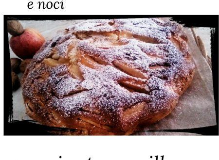 Torta con mele e noci