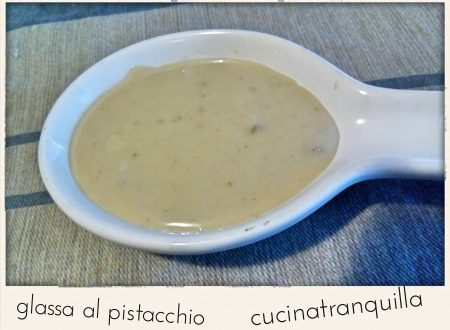 Glassa al pistacchio