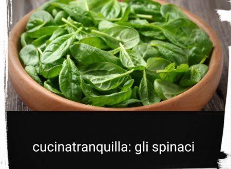 In cucina con Emanuela: gli spinaci