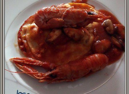 Lasagnetta ai frutti di mare
