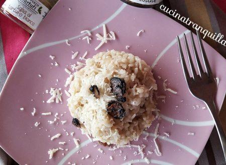 i prodotti del territorio: Risotto cremoso alla salsa di tartufo bianco e….