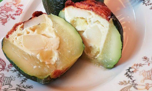 Zucchine ripiene al cuore morbido di frittata
