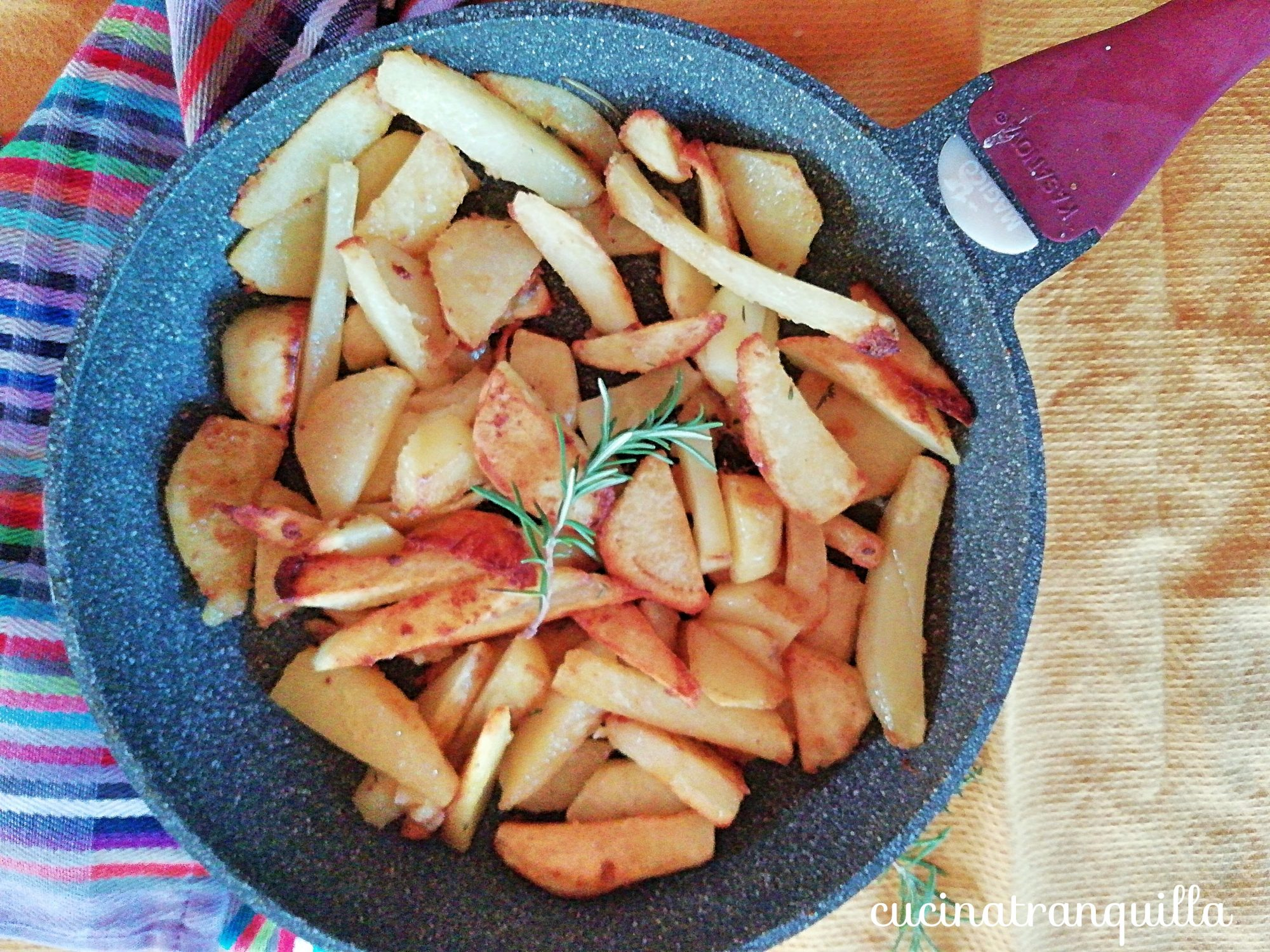 patate sabbiose in padella