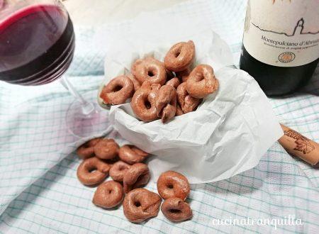 I prodotti del territorio: tarallucci al vino rosso