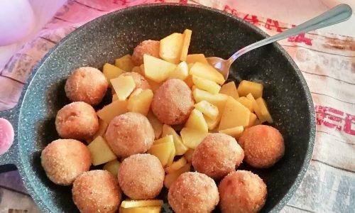 polpette di tonno con patate