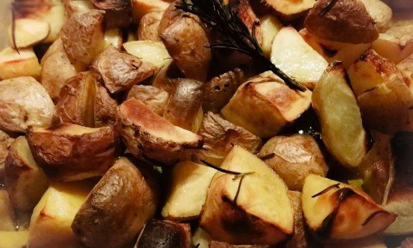 Patate al forno ( con buccia)
