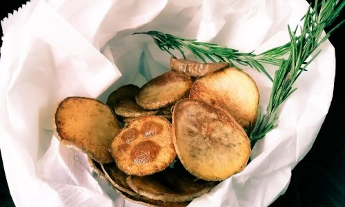 Chips di patate croccanti