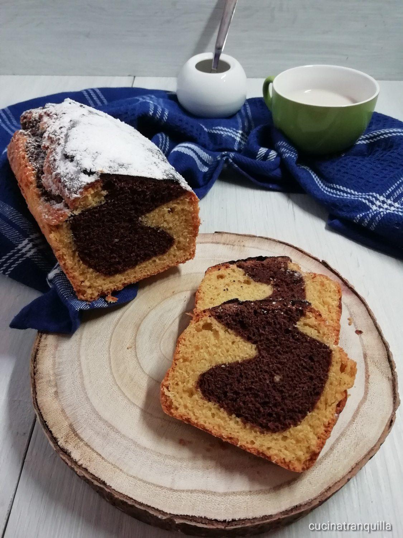 Plumcake con zucchero di canna e farina di riso