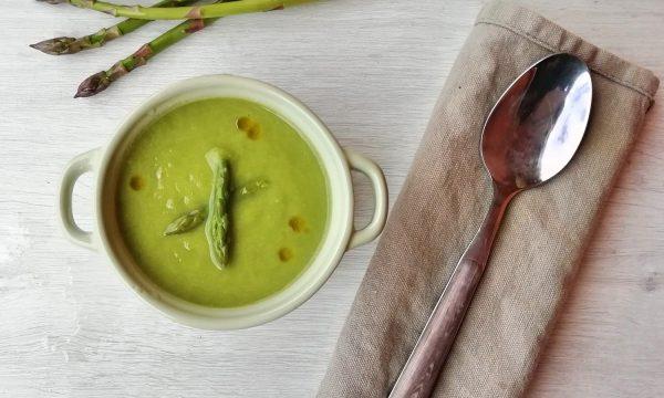 Crema di asparagi e patate