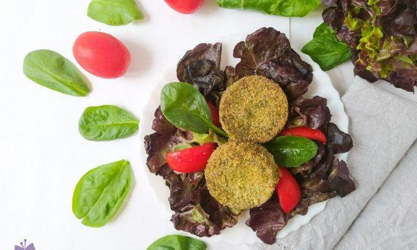Mini burger di spinaci