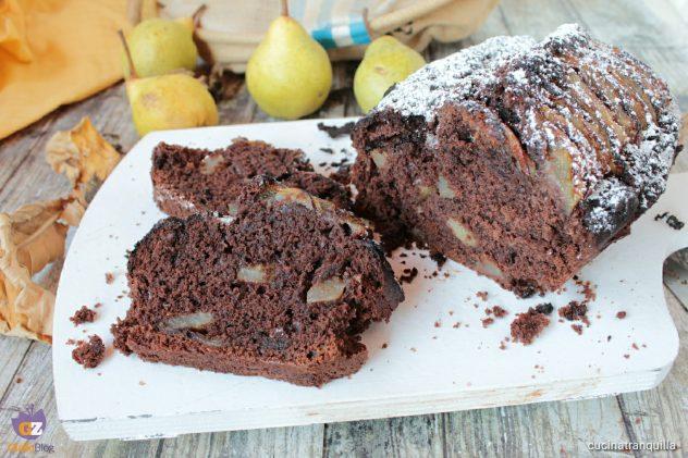 Plumcake con pere e cioccolato