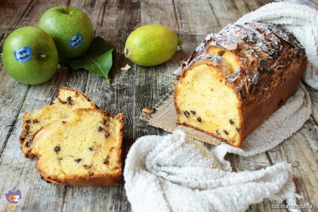 Plumcake con mele Granny Smith